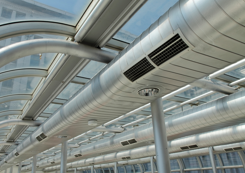 Industrial Ventilation Ductwork : Commercial air duct cleaning troy mi industrial vent