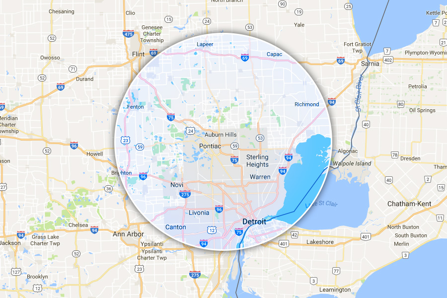 Contact USA Pro-Vac - (855) 955-0100 | Air Duct Cleaning Troy MI - map1
